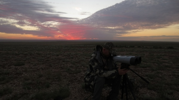 Kowa Highlanders Glassing for antelope with Jay Scott Outdoors